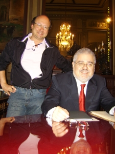 Javier Otaola y Joan-Francesc Pont