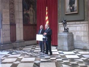 El Saló de Sant Jordi recorda la figura de Francesc Ferrer