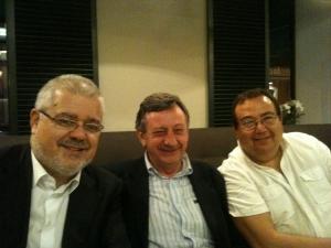Joan-Francesc Pont, Pedro Álvarez y Paco del Barrio